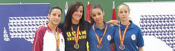 La deportista de la UCLM Sandra Sánchez Jaime.