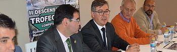 Marcial Marín en la presentación Descenso Río Júcar en Cuenca. Foto: JCCM.