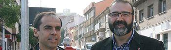 Daniel Jiménez y Víctor Cabeza