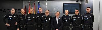 Nuevos oficiales de la Policía Local.