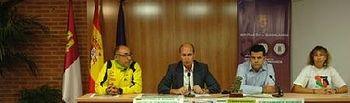 El diputado de Deportes, Javier del Río, ha presentado el Circuito