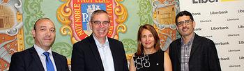 Liberbank seguirá apoyando el Festival de los Sentidos de La Roda.