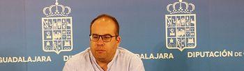 El vicepresidente primero de la Diputación, Rubén García.