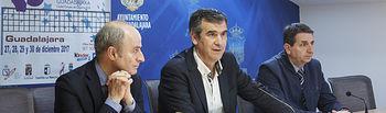 Presentación V Copa de España de voleibol y All star femenino, Agustín Martín Santos, Presidente de la Federación Española de Voleibol