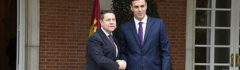 Pedro Sánchez y Emiliano García Page