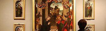 Imagen del 'Pentecostés' pintado hacia 1560-1565 por Juan Correa de Vivar