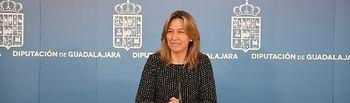 Ana Guarinos, vicepresidenta primera y diputada delegada de Economía y Haciend . Foto: Diputación de Guadalajara.
