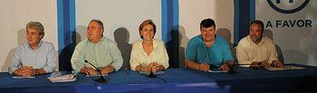 Cospedal preside el Comité Ejecutivo Autonómico del PP de Castilla-La Mancha.