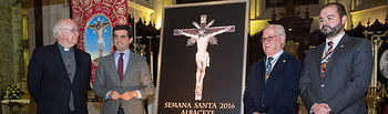 Presentación del Cartel de la Semana Santa de Albacete 2016.