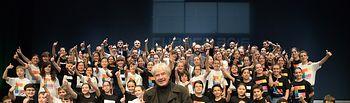 El vicepresidente de Castilla-La Mancha asiste a la gala de presentación de Cuenca 2016. Foto: JCCM.