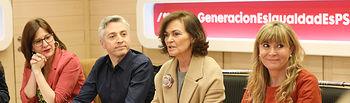 Reunión de coordinación de Igualdad celebrada en la sede del PSOE. Foto: Inma Mesa Cabello