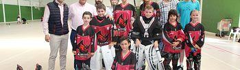 Manuel Serrano y la Escuela de Hockey.