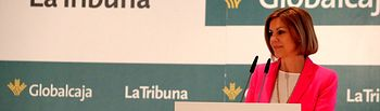 La Presidenta Cospedal en el desayuno organizado por La Tribuna