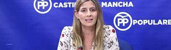 Carolina Agudo.