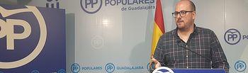 Lucas Castillo, portavoz PP  Guadalajara.