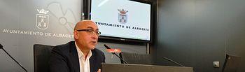 El concejal del Grupo Municipal Socialista en el Ayuntamiento de Albacete, Juan Antonio Belmonte.