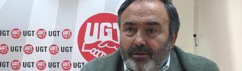 Carlos Pedrosa, secretario general UGT CLM.
