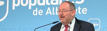 Dimas Cuevas, Senador del Partido Popular por Albacete.