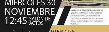Cartel Jornadas.