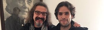 Natalio González y Jacobo Medianero.
