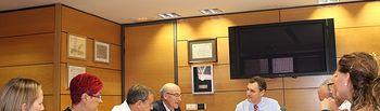 El Subdelegado del Gobierno preside la reunión de la Comisión Ejecutiva Provincial del INSS