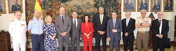 Castilla-La Mancha se compromete con el Ministerio de Defensa a caminar de la mano en educación