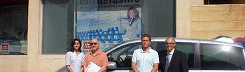 Presentación del nuevo vehículo adaptado de la Asociación Tindavar de Yeste