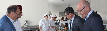 Visita a una clase del Grado Básico y Medio de FP de Cocina y Gastronomía en IES Alonso de Orozco de Oropesa