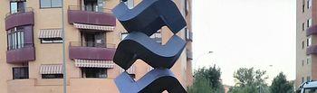 Escultura Calle Antonio Maura.