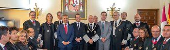 El presidente de Castilla-La Mancha, Emiliano García-Page, asiste a la apertura del año judicial. (Fotos: A. Pérez Herrera / JCCM).