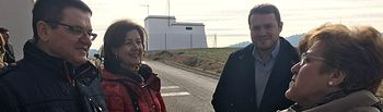 Los concejales del Grupo Socialista Marisa Sánchez y Manuel Martínez pudieron constatar ayer esta realidad en su visita a Abuzaderas y Cerro Lobo