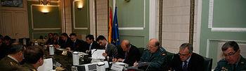 Reunión del Comité Estatal de Coordinación de incendios forestales