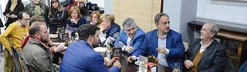 El PP muestra su compromiso con los empresarios en Valdepeñas