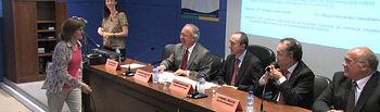 Acto de entrega de la XVII edición de los Premios de Investigación del Complejo Hospitalario Universitario de Albacete.