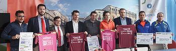 Presentación de la Media Maratón, responsables del Club La Esperanza