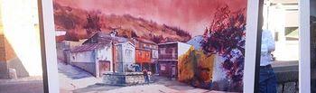 Pintura rápida en Chiloeches
