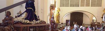 Jesús Martín visita el  Museo de la Cofradía de Nuestro Padre Jesús Nazareno, de Daimiel.