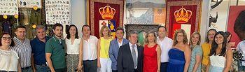 Inauguración de la Feria Mencatur en Villanueva de la Fuente (Ciudad Real).