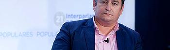 El secretario de Administraciones Territoriales del PP, Antonio Sanz