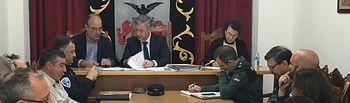 El subdelegado del Gobierno copreside la Junta Local de Seguridad de Tobarra.