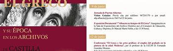 Programa del Día de los Archivos del Archivo Histórico de la provincia de Albacete. Foto: JCCM.