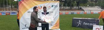 El APANAS bate tres récords regionales en el CampeOnato de Atletismo de FECAM