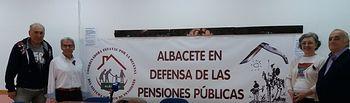 """Presentación pública del Colectivo """"Albacete en Defensa de las Pensiones Públicas"""""""