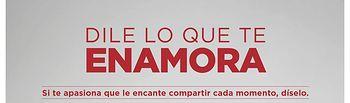 """El Corte Inglés prepara acciones especiales para que en San Valentín """"le digas lo que te enamora""""."""