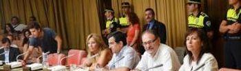 Concejales Grupo Socialista durante el Debate del Municipio
