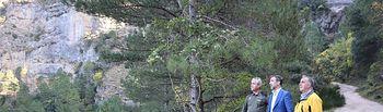 Visita al Parque Natural del Rio Mundo y de la Sima, en Riópar (Albacete).