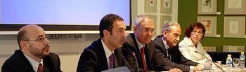 Juan García, Miguel Lorente, Ernesto Martínez, Juan Ramón de Páramo y Victoria Sobrino.