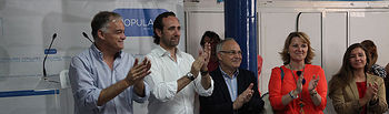 Esteban González Pons y Jose Ramón Bauzá en Llubí