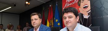 Manuel Serrano y Francisco Navarro