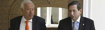 José Manuel García Margallo y Fernando Núñez Fábrega